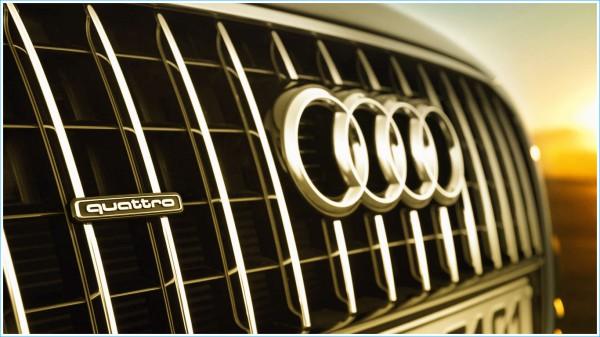 La couleur du Audi Logo