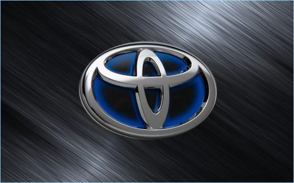 La couleur du Logo Toyota