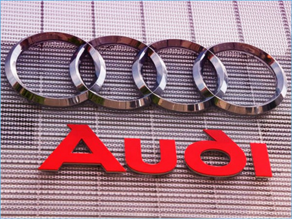 La forme du symbole Audi