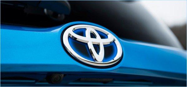La forme du symbole Toyota