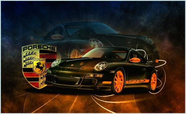 Les logo Porsche 911