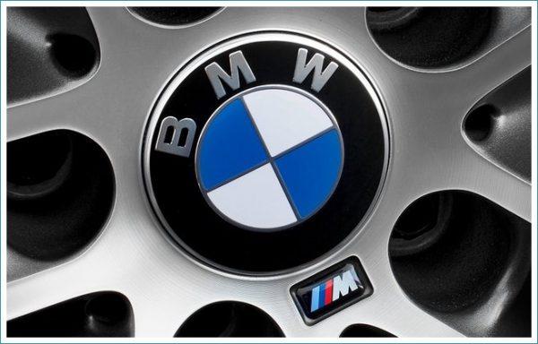 le logo de BMW