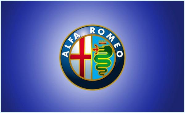 La Couleur de l'emblème d`Alfa Romeo