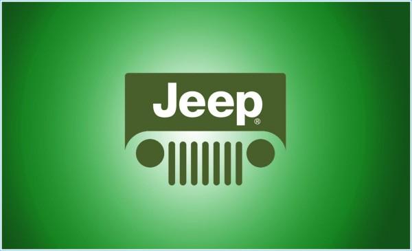 La couleur de l`emblème Jeep