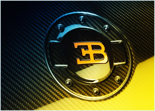La couleur du logo Bugatti