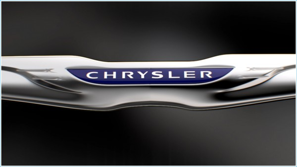 La couleur du logo Chrysler