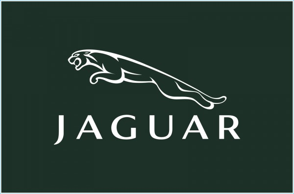 La forme de l` emblème Jaguar