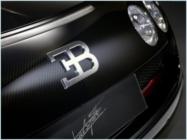 La forme du symbole Bugatti