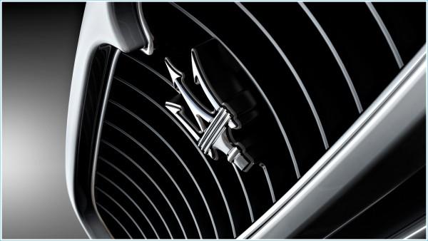 La forme du symbole Maserati