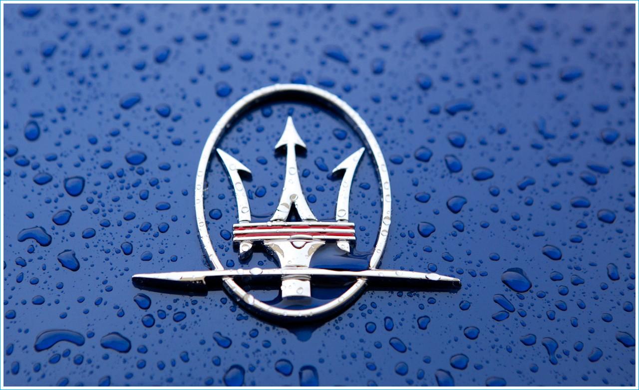 Le Logo Maserati Les Marques De Voitures