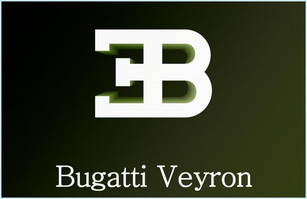 Le logo Bugatti Veyron