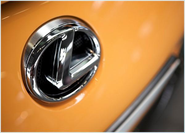 Le logo Lexus et les emblèmes