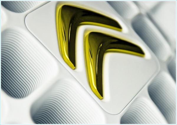 Les couleurs du logo Citroën