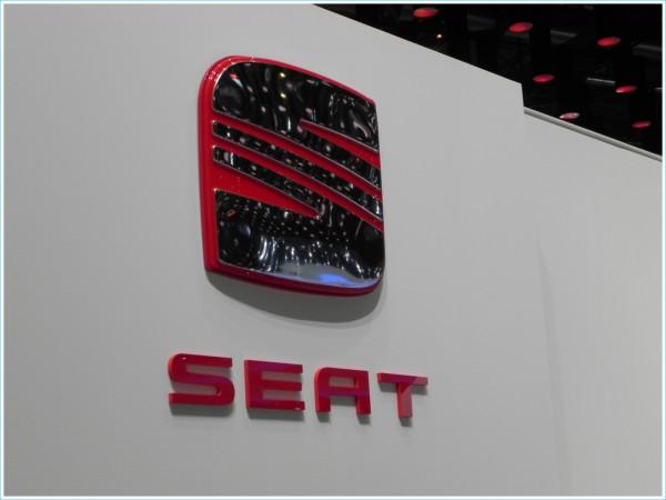 Les couleurs du logo SEAT