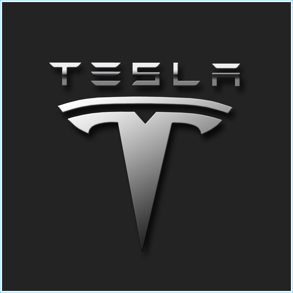le logo tesla les marques de voitures. Black Bedroom Furniture Sets. Home Design Ideas