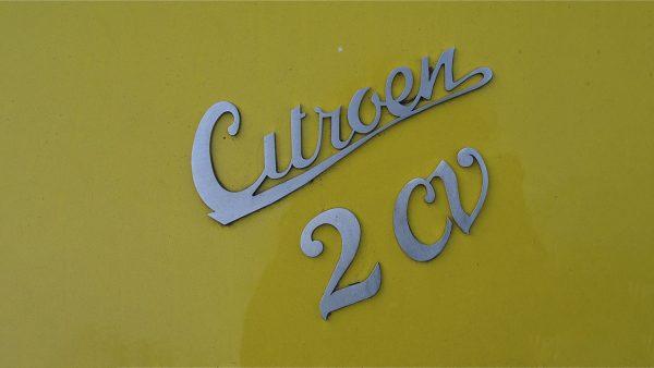 Logo Citroën 2cv