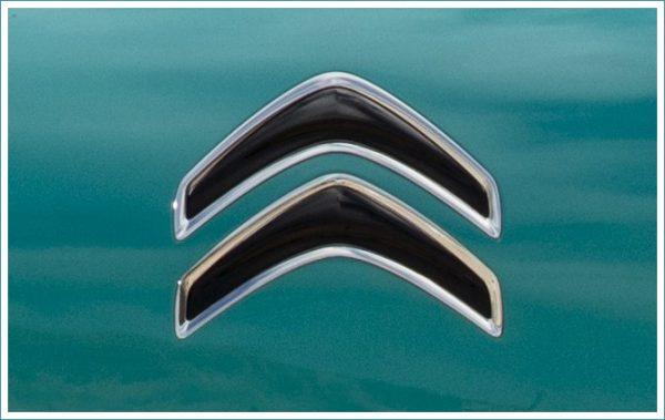 le logo Citroën