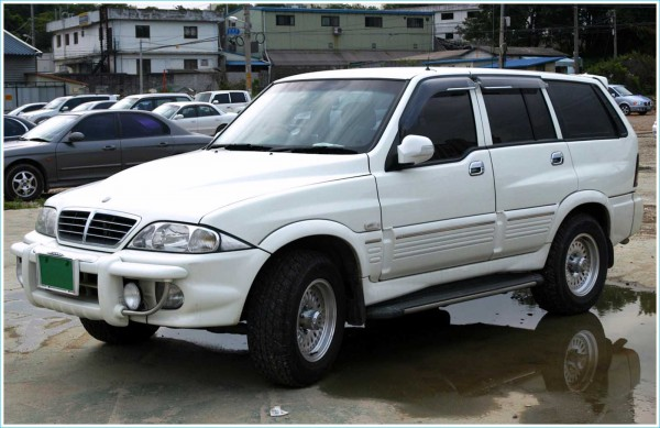 1993—2005 Ssangyong Musso