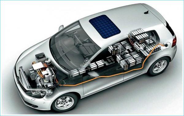 la partie intérieure du véhicule électrique