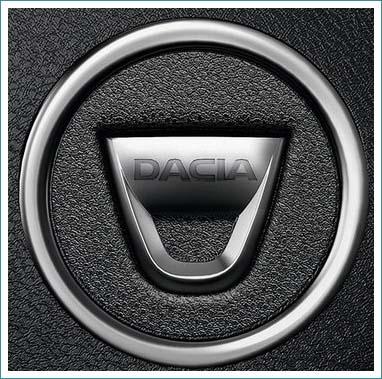 le logo Dacia