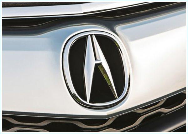 le logo de Acura