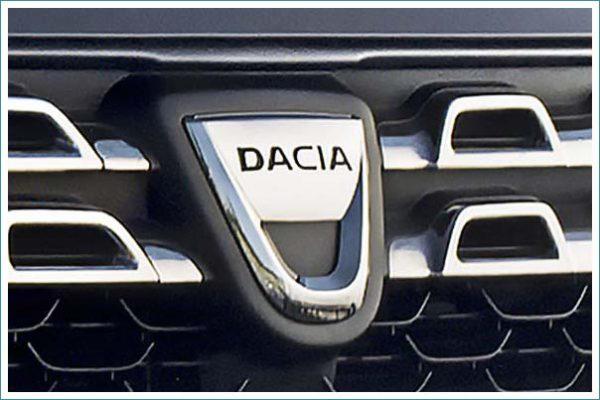le logo de Dacia