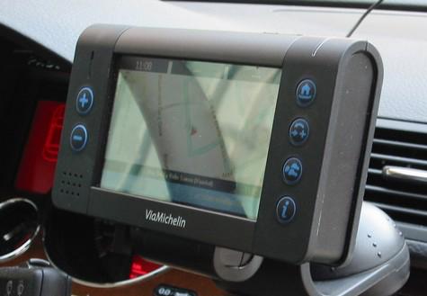 GPS ViaMichelin X-T 980