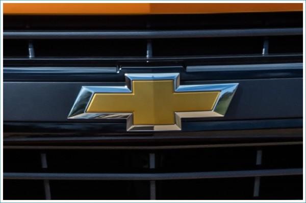 La couleur du Logo Chevrolet