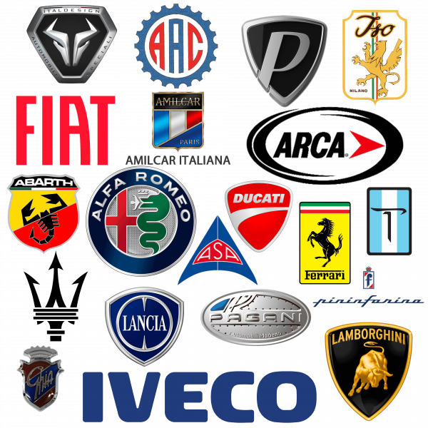 Marque de voitures italiennes