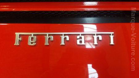 couleur logo Ferrari