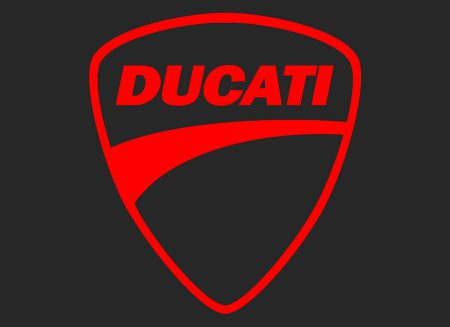 La couleur du logo Ducati