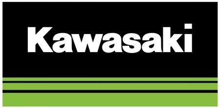 Lacouleur du logo Kawasaki