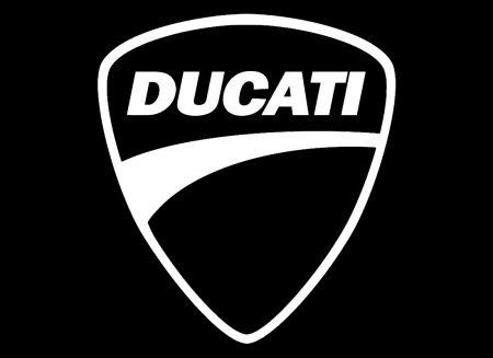 La forme du symbole du logo Ducati