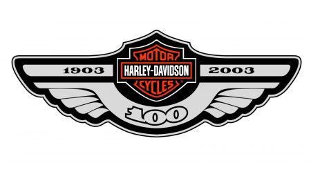 L'emblème logo Harley-Davidson