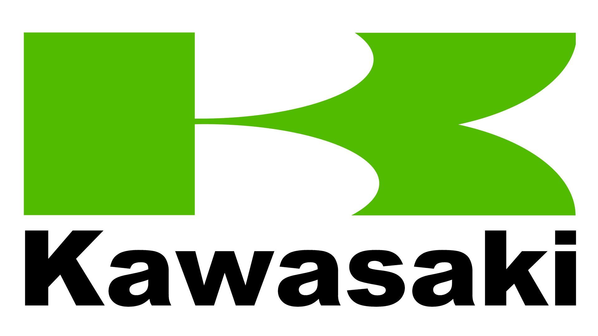 Le logo moto Kawasaki, embleme [sigle lancia]