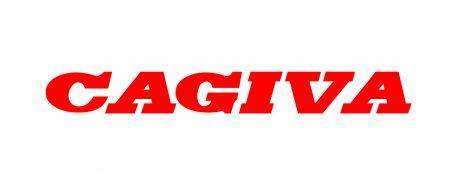 La couleur du logo Cagiva
