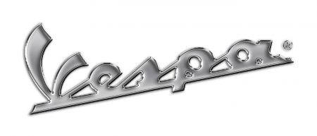 La couleur du logo Vespa