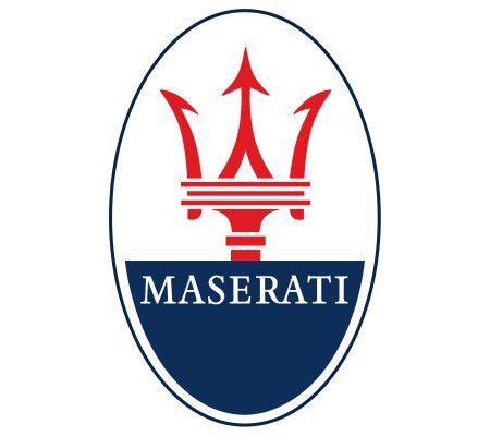 le logo Maserati