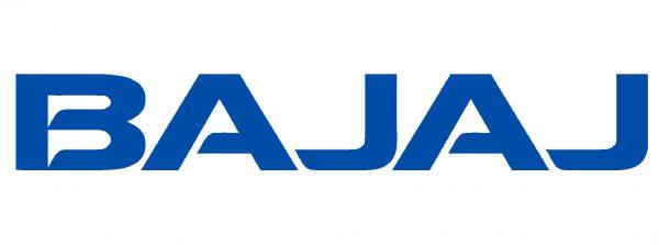 Type lettersBajaj logo
