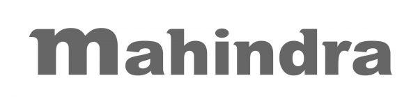 Type lettresMahindra logo