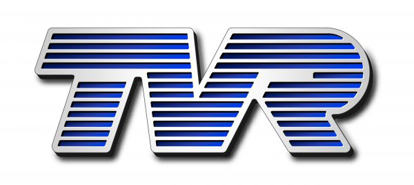 Type lettres TVR logo