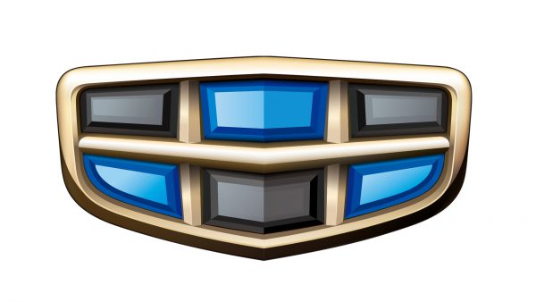 Coleur Geely logo
