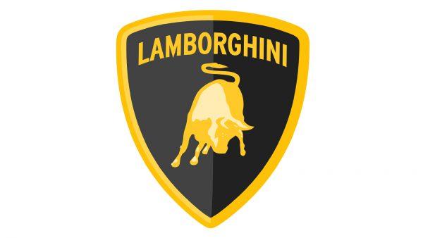 Couleur Lamborghini logo