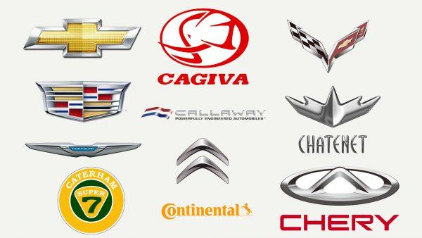 Marques de voitures qui commencent par C