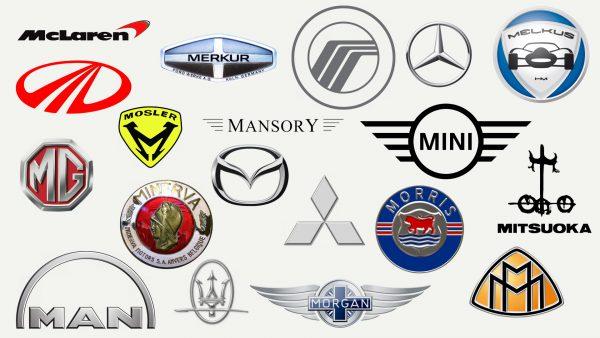 Marques de voitures qui commencent par M