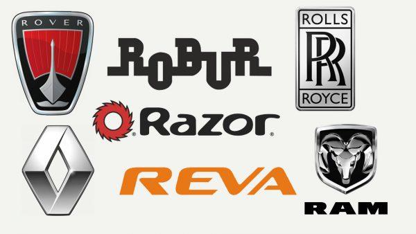 Marques de voitures qui commencent par R
