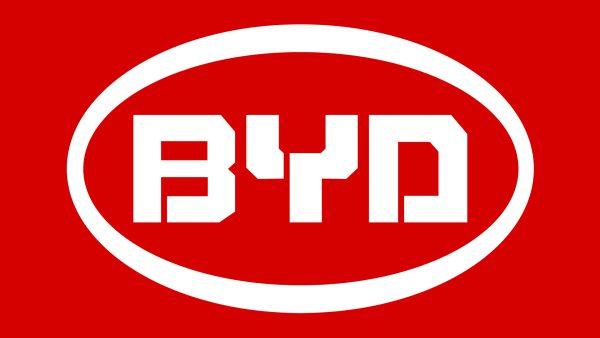 Couleur logo BYD