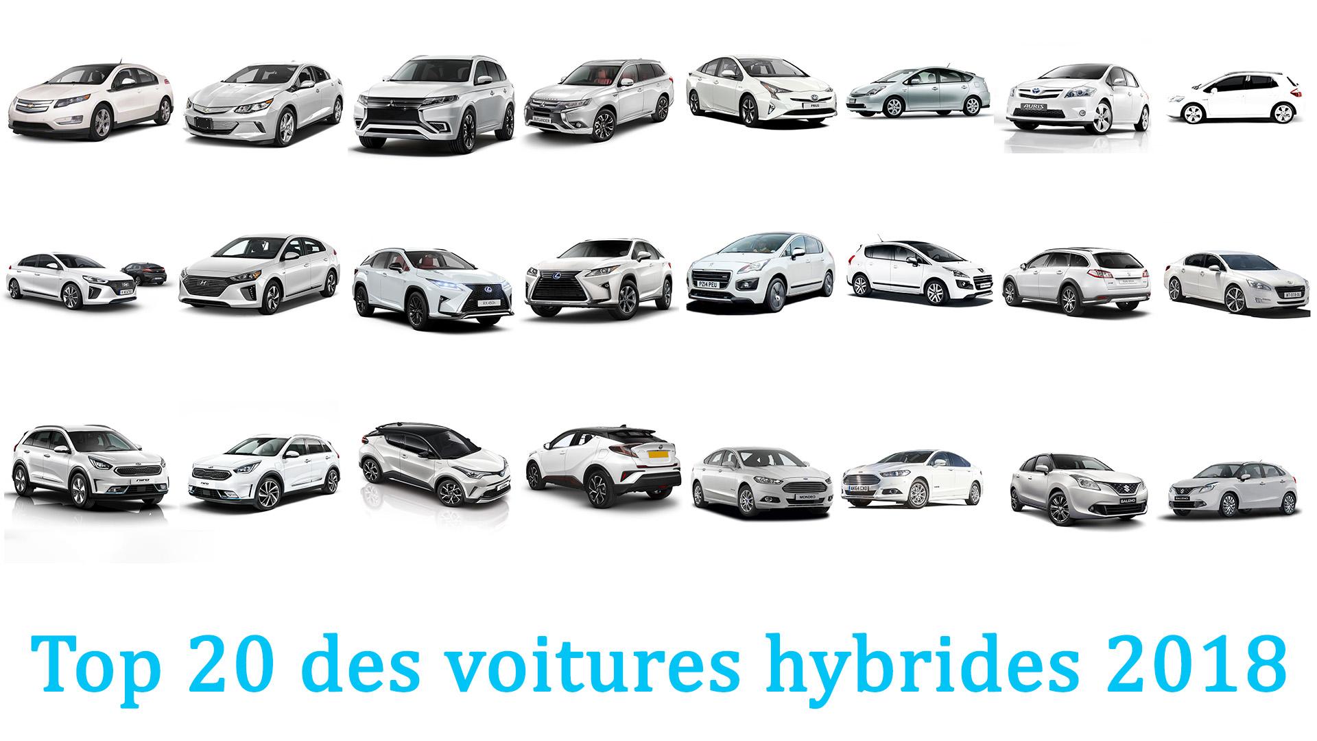 top 20 des voitures hybrides 2018. Black Bedroom Furniture Sets. Home Design Ideas