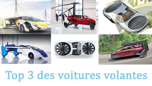 Top 3 des voitures volantes
