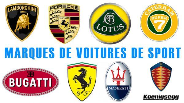 Marques de voitures de sport